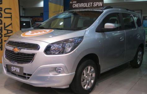 Chevrolet выпустил грузопассажирскую версию компактвэна Spin