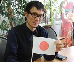 Преподаватель изТокио учит челябинских студентов японскому языку припомощью игры всёги