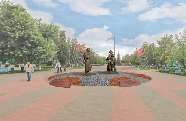 Завершено голосование поскульптурной композиции «Трудовая слава города» вДзержинске