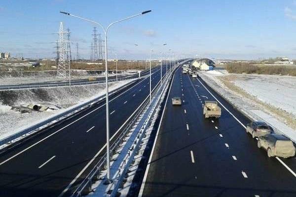 Двановых моста открыты вТюмени длядвижения