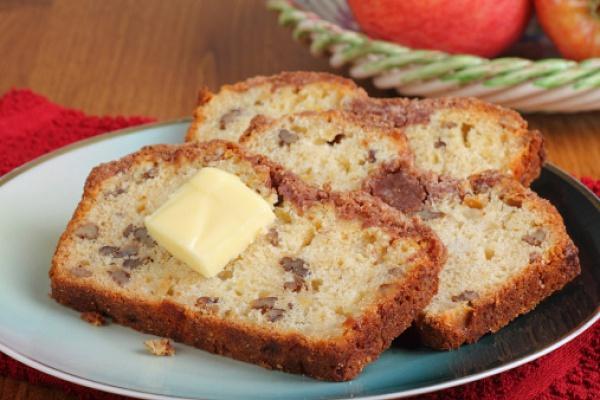 Яблочно-грушевый кекс