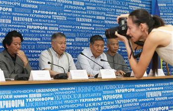 ВКиеве презентовали выставку современной китайской живописи