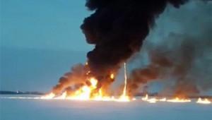 Виновниками взрыва ипожара наОбистали рыбаки
