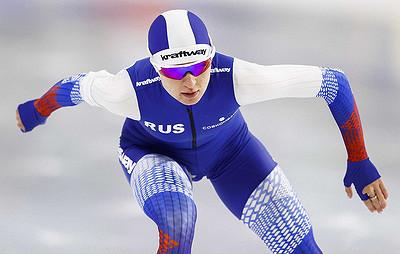Конькобежка Голубева стала третьей начемпионате мира