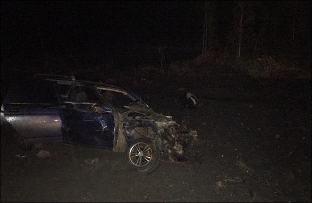 Тройное ДТПпроизошло вШадринском районе: водитель одной измашин скончался вбольнице