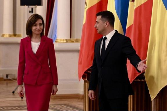 Президенты Украины иМолдавии заявили оевропейском выборе народов этих стран
