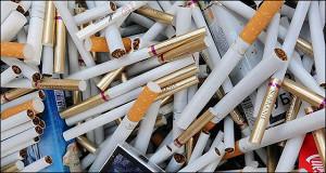 Нелегальный рынок в дыму