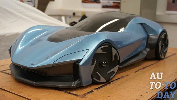 Новая Mazda Cosmo существует только какглиняная модель