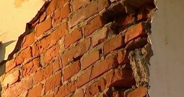 ВВологодской области обрушилась стена жилого дома начала XIXвека