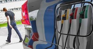 Бензин утекает на Запад