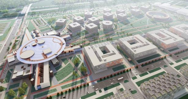 Натерритории ИТМО Хайпарк вСанкт-Петербурге построят новый университетский кампус