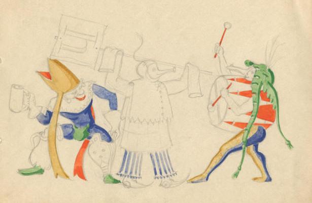 Судьба одного человека: Музей ГУЛАГа открыл экспозицию иллюстратора Бориса Крейцера