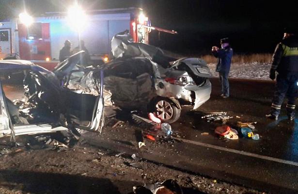 ВДТПподСмоленском погибло шесть человек