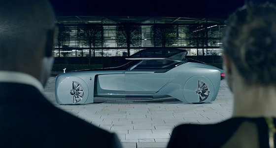 Rolls Royce представила беспилотный автомобиль