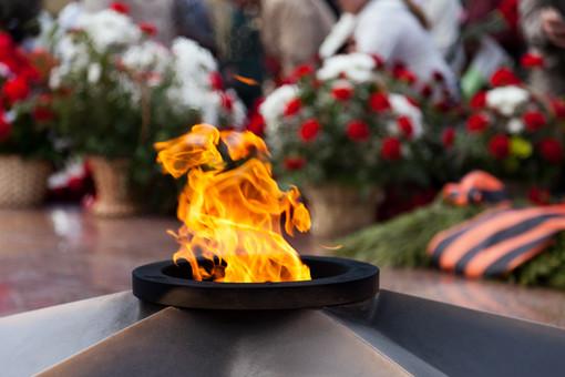 Вечный огонь потушили вНоябрьске из-засильных морозов