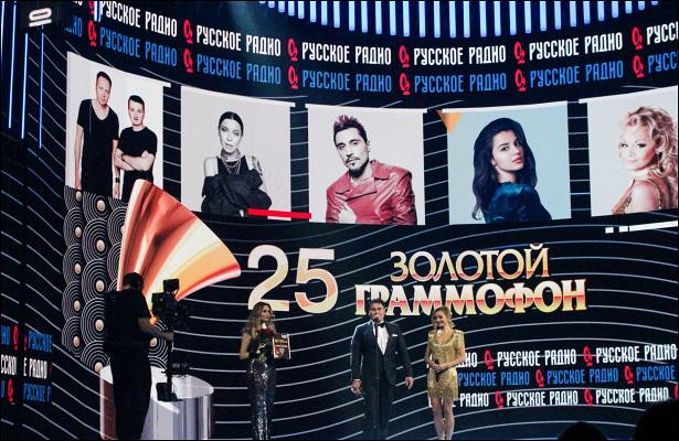 Юбилейный «Золотой Граммофон» артисты назвали «музыкальным Оскаром»