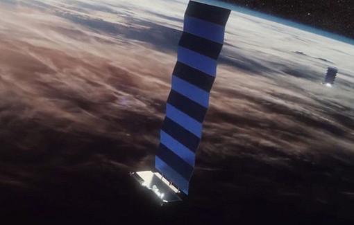 SpaceX вывела наорбиту очередную группу интернет-спутников Starlink