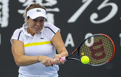 Павлюченкова вышла вовторой круг турнира вМельбурне