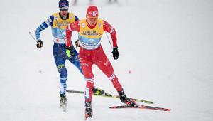 Российские лыжники взяли серебро вмужской эстафете