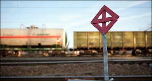 Грузоперевозки по железной дороге растут