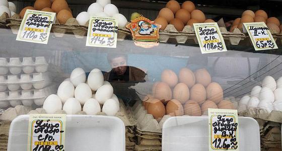 Инфляция в РФ в годовом выражении снизилась почти до 10%