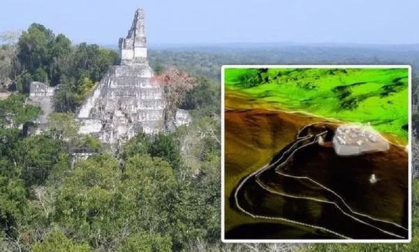 Археологи обнаружили Великую стену майя