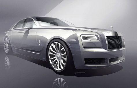 Rolls-Royce выпустит 35особенных Ghost. Этобудет нечто!