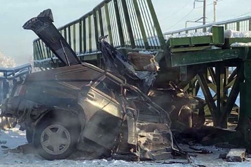 Приобрушении моста вДагестане погибли двачеловека