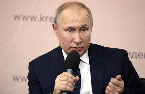 Путин рассказал орывке вперед длячеловечества