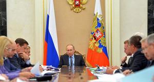 Путин призвал искать новые источники роста экономики