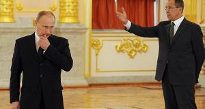 Лавров предложил Путину выслать дипломатов США