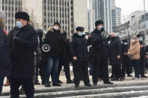 Задержанные наакциях вподдержку Навального уральцы оказались рецидивистами