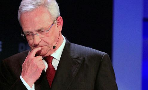 Гендиректор Volkswagen ушел в отставку из-за «дизельгейта»