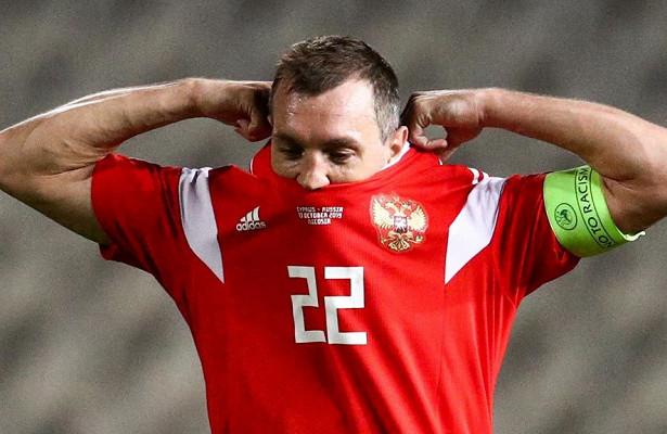 Сборная России сохранила 39-еместо врейтинге ФИФА