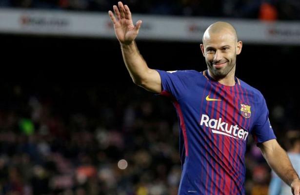 Маскерано отреагировал наинформацию овозможном возвращении в«Барселону»