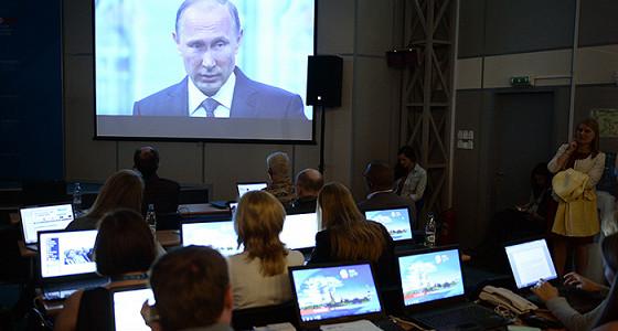 Путин пообещал сохранить мораторий на рост налогов