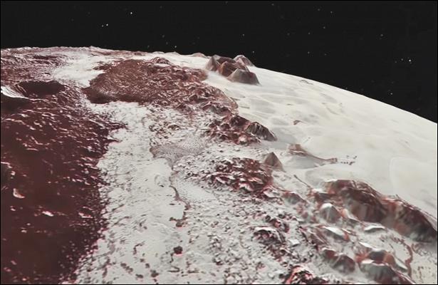 НаПлутоне есть заснеженные горы, иученые выяснили откуда взялся снег