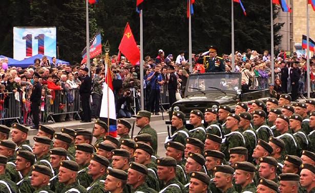 Парад Победы ишествие «Бессмертного полка» состоялись вДонецке