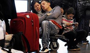 Туристы в страховой опасности
