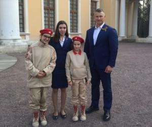 Юнармеец школы №1623 заняла третье место навидео-конкурсе «Маршалы Победы»