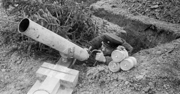 Какстреляло самое необычное оружие Красной Армии