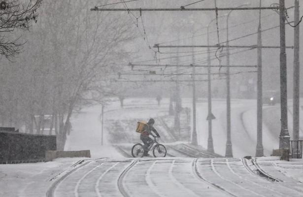 Новые снегопады придут вМоскву