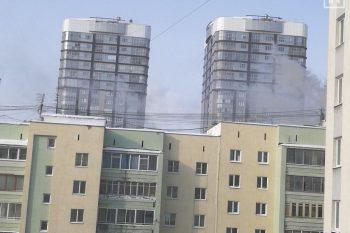 Вздании Уральского института управления произошёл пожар