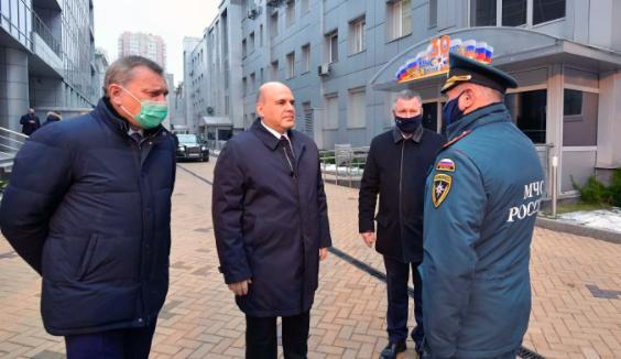 Мишустин вручил госнаграды сотрудникам МЧС