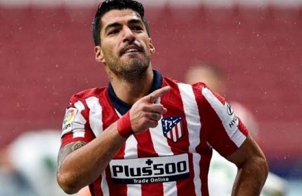 Суарес повторил клубный рекорд «Атлетико» поголам