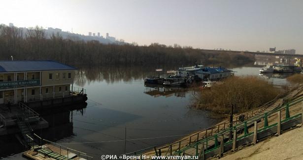 Нижегородцев предупреждают оповышении уровня воды вВолге