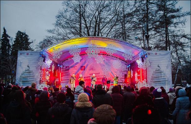 Новый годвСтране чудес вВоронцовском парке