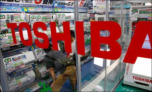 Toshiba признала убытки прошлых лет