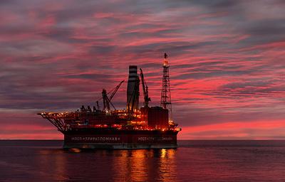 Напервой вроссийской Арктике морской платформе «Приразломная» добыто 2,5млнтонн нефти