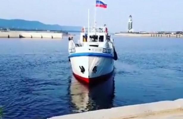 Изпорта Турка вБурятии доострова Ольхон запущен первый регулярный рейс поБайкалу